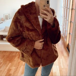 Amuse Society faux fur jacket